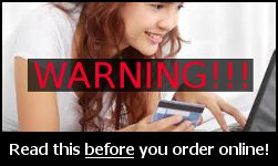 Buying Online Counterfit Warning